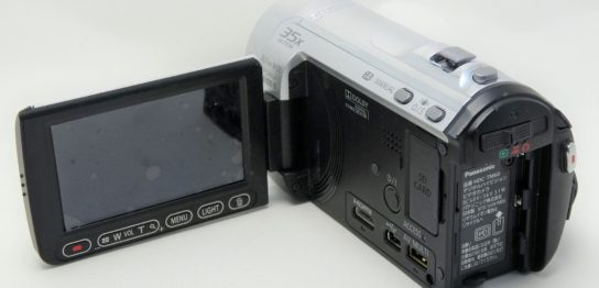 HDC-TM60-Panasonic-落下後にボタン操作が効かない