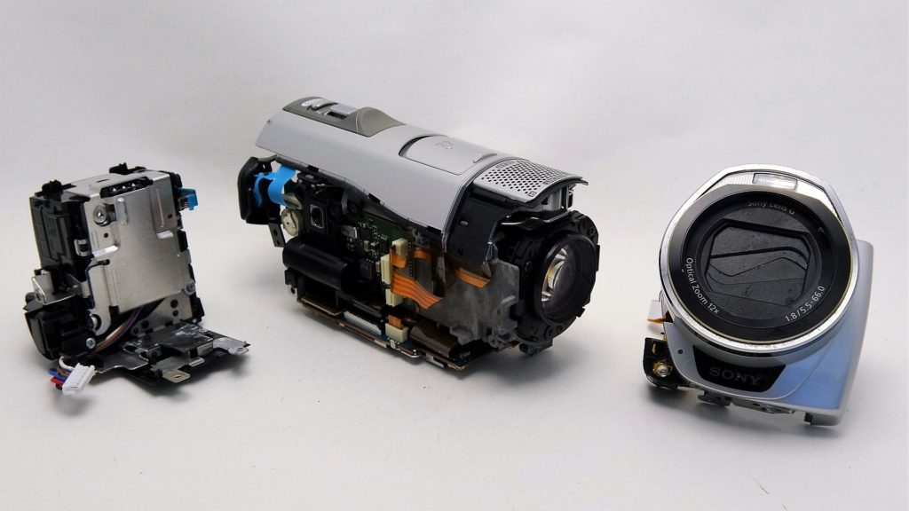 HDR-CX520V-Sony-Handycam-電源が入らない故障状態からデータ復旧