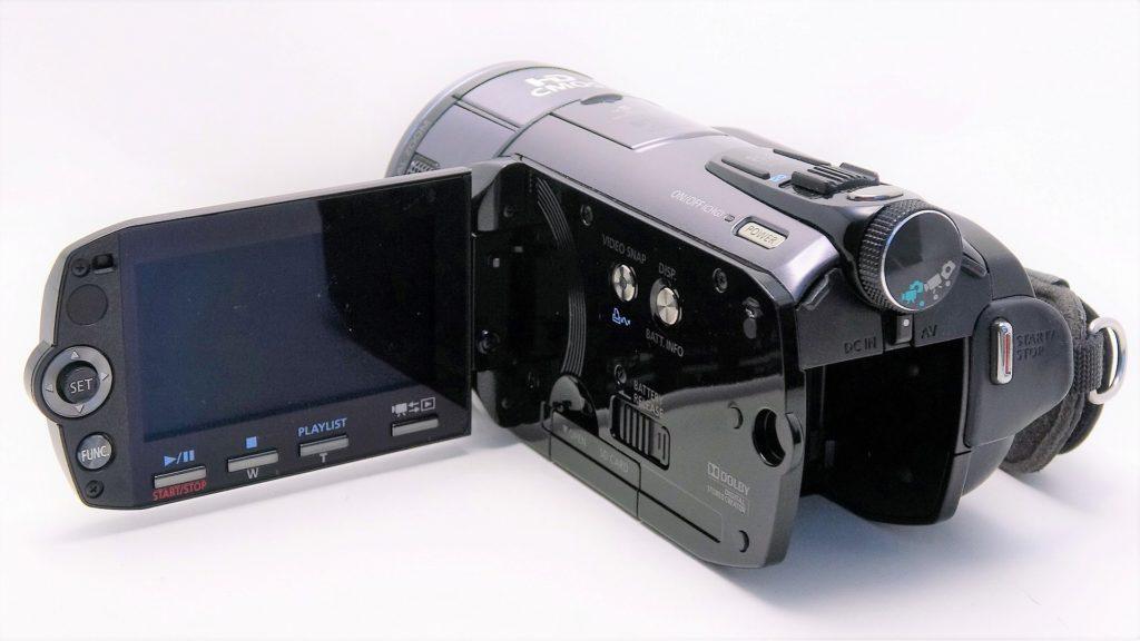 HF-S10-Canon-iVIS-電源を入れても起動しない