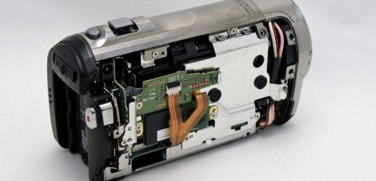 HDC-TM70-Panasonic-川に落とし電源が入らない