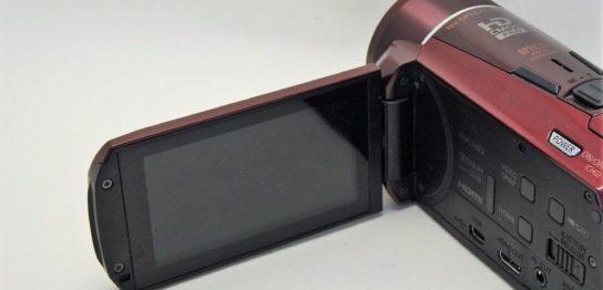 HF-M52-Canon-ivis 液晶が映らない