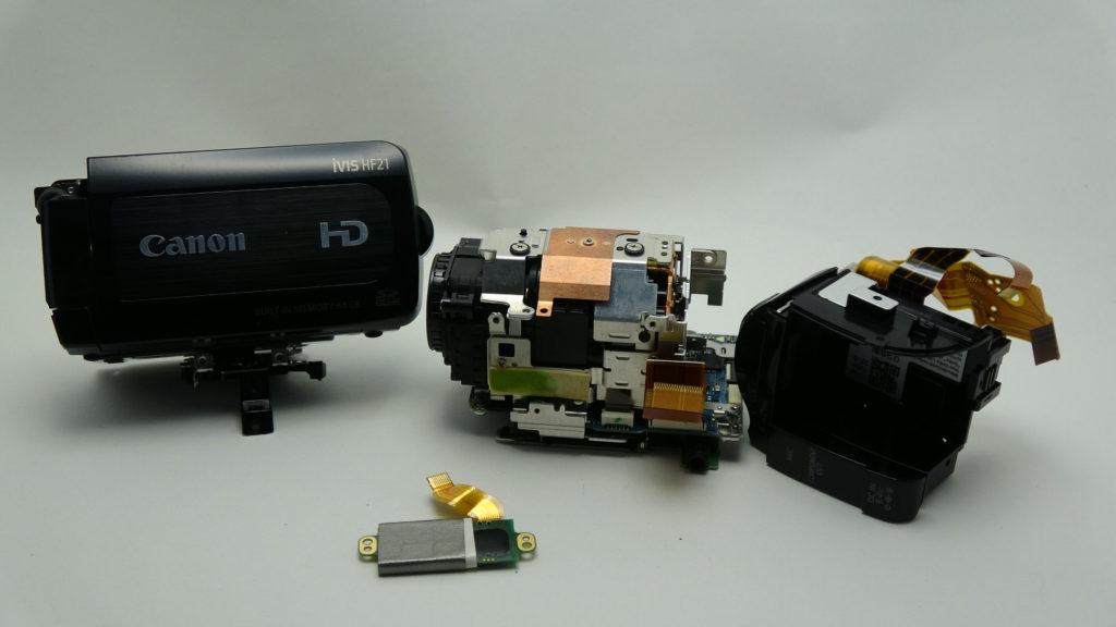 HF21-Canon-ivis 電源が入らない