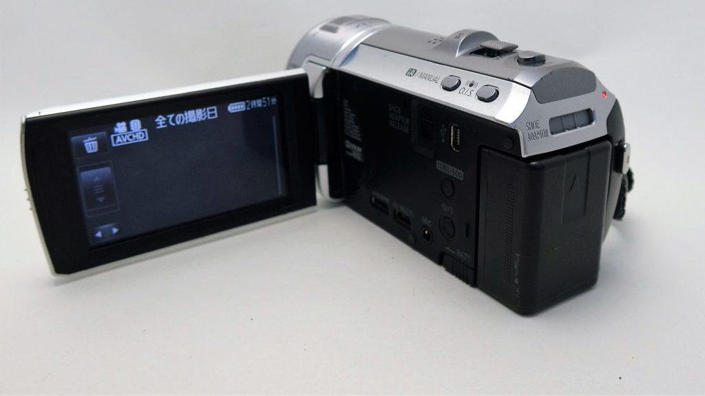 HC-V700M-Panasonic 子どもが触り全てのデータが消えた。ビデオカメラ復元