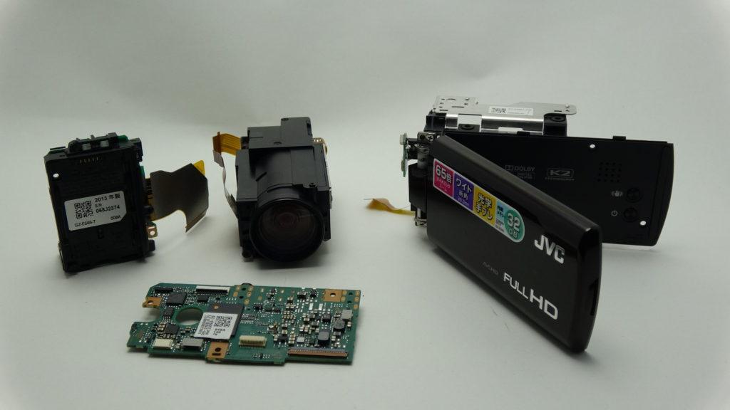 GZ-E565-JVC 故障して電源が入らない