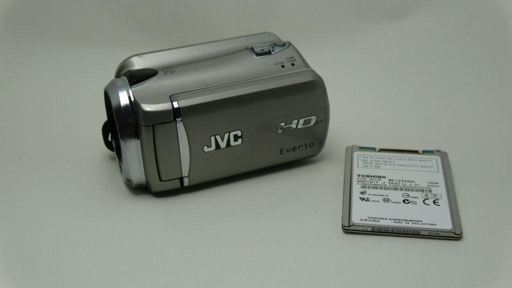 GZ-HD620-JVC HDDエラー