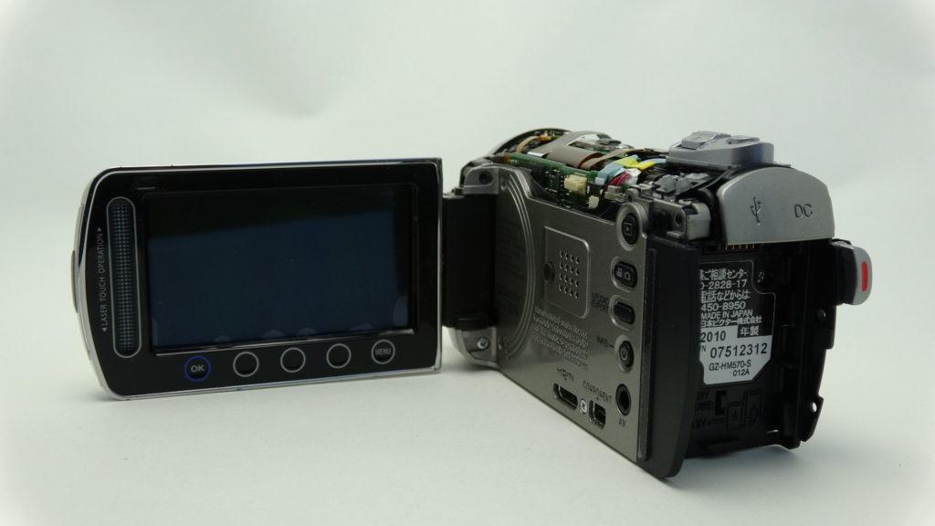 JVC_GZ-HM570 故障して操作不能