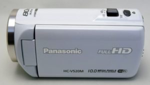 HC-V520-Panasonic 動画全消去により消えたビデオの復活