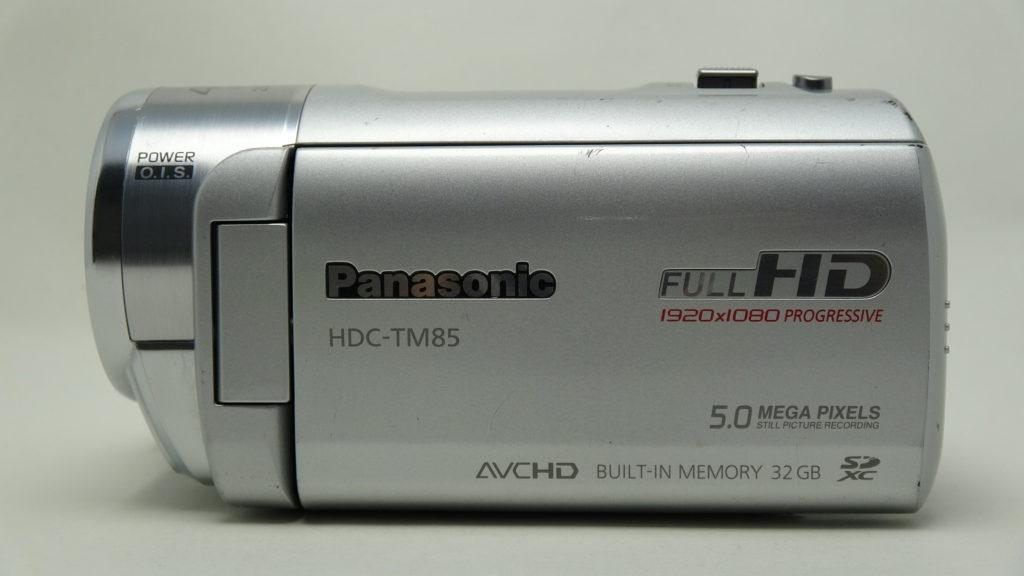 HDC-TM85-Panasonic_フォーマットにより全て消えた