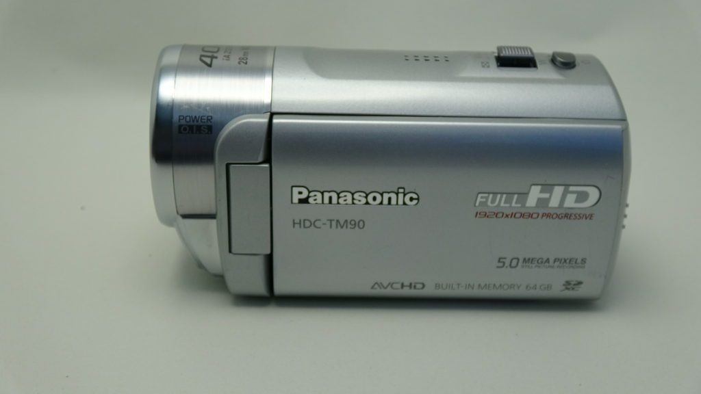 Panasonic HDC-TM90 初期化