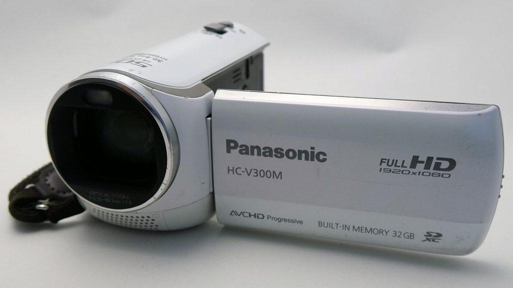 HC-V300M-Panasonic フォーマットにより全てのデータが消えた