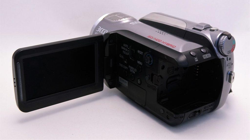 HDC-HS9-Panasonic-電源が入らない