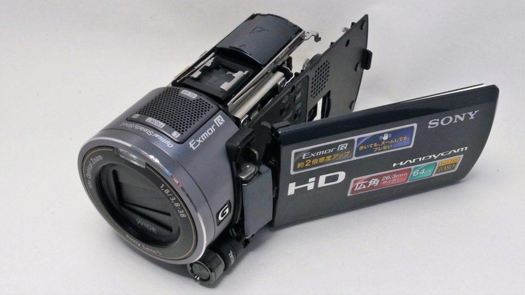 HDR-CX550V-Sony-Handycam-故障