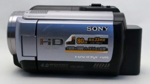 Sony HDR-XR100 消えてしまったデータ復元