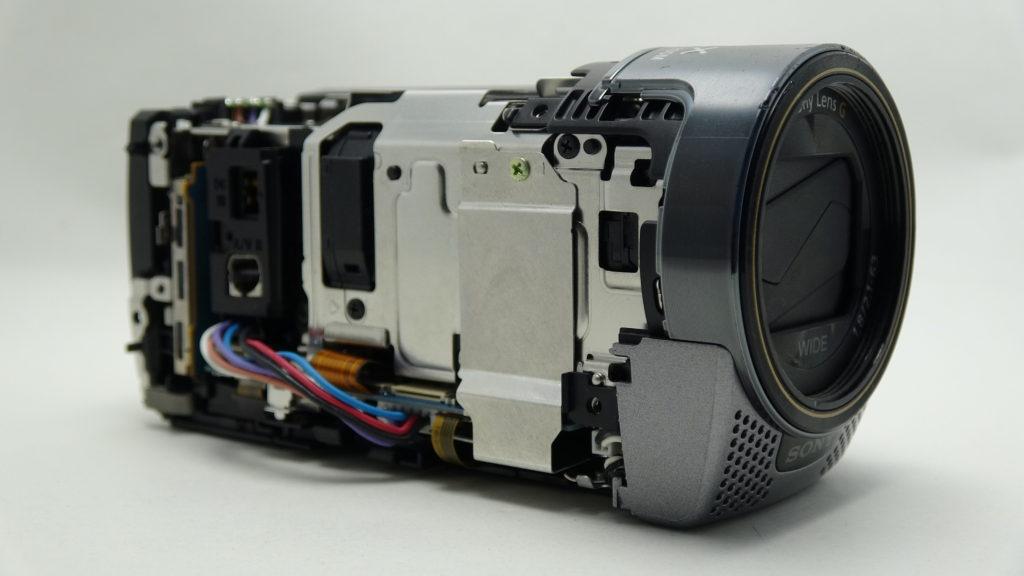 HDR-CX180-sony ハンディカムをトイレに水没