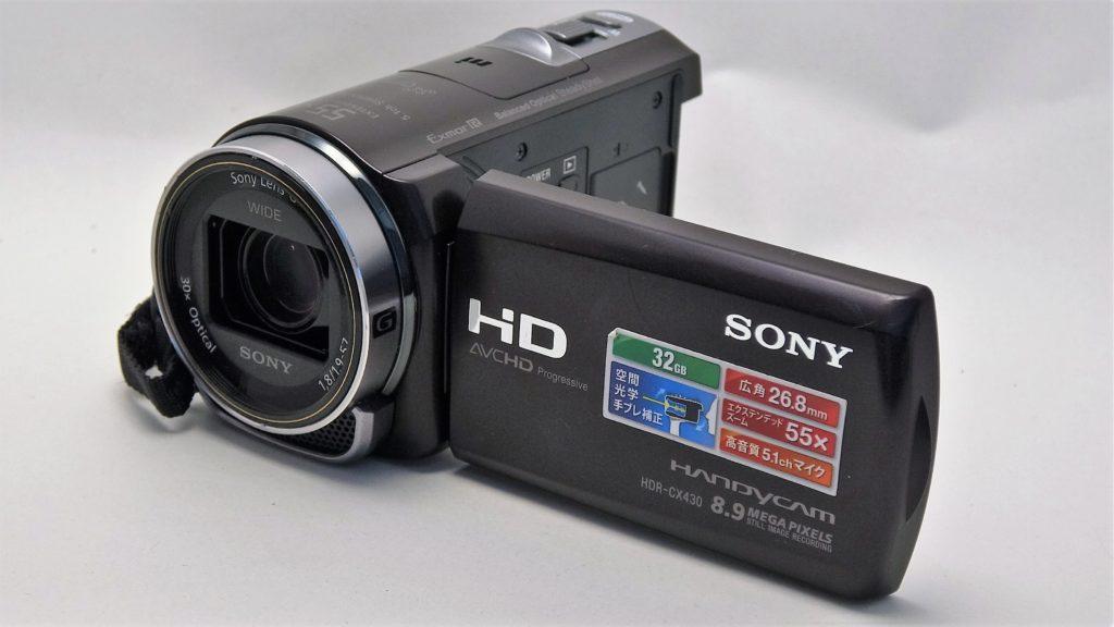 HDR-CX430-Sony-Handycam 初期化したデータの復元