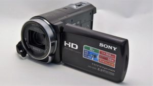 Sony HDR-CX430V 初期化データ復元