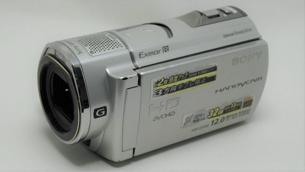 HDR-CX500V-Sony 削除したビデオの復活