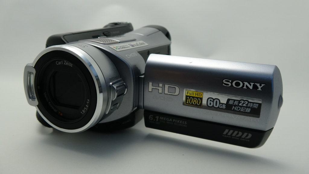 HDR-SR7 初期化したハンディカム