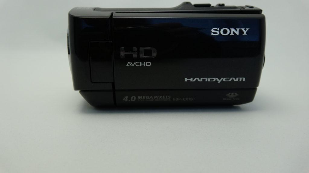 HDR-CX120 誤消去したハンディカム