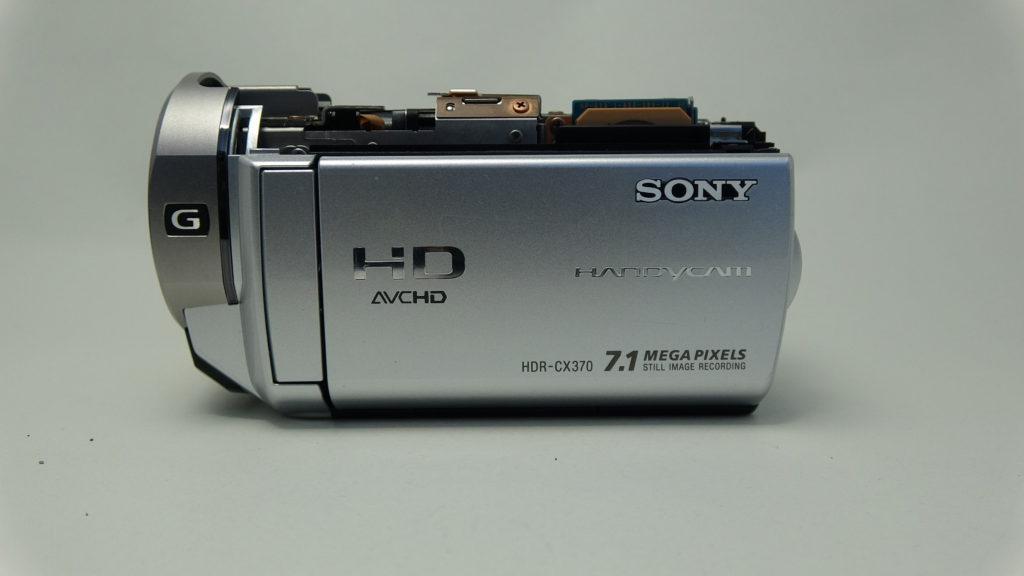 HDR CX370 Sony 水没して電源が入らない