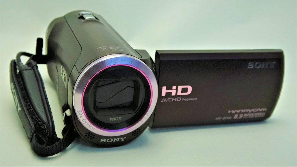 HDR_CX390-SONY 初期化したハンディカム、データ復元