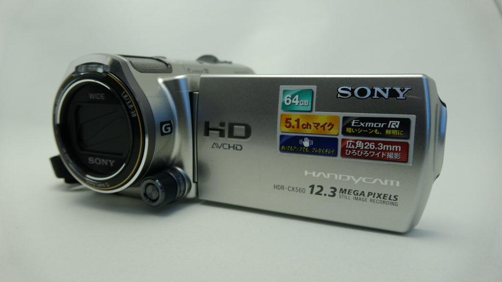 HDR_CX560V-sony 初期化したハンディカム