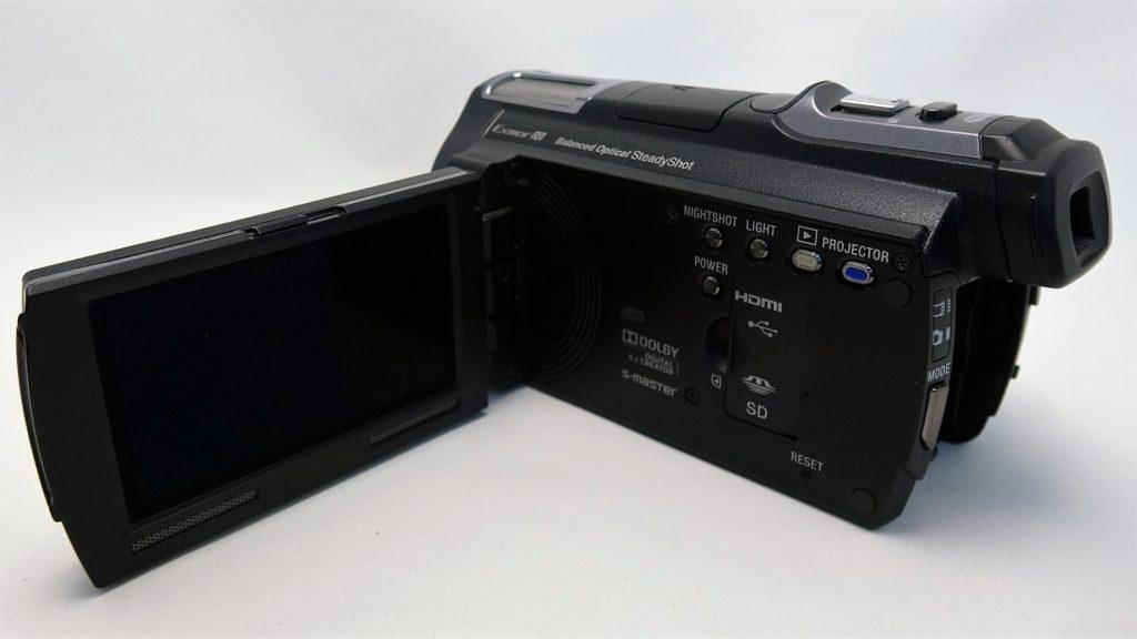 HDR-PJ760V-Handycam 落下故障したハンディカムからデータ取り出し
